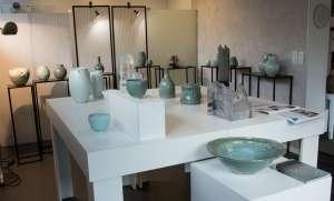 Galerie Barina - Porcelaine Céladon et Pâte de verre